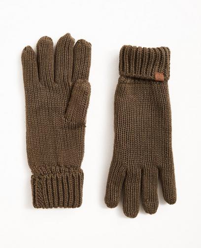 Fijngebreide handschoenen